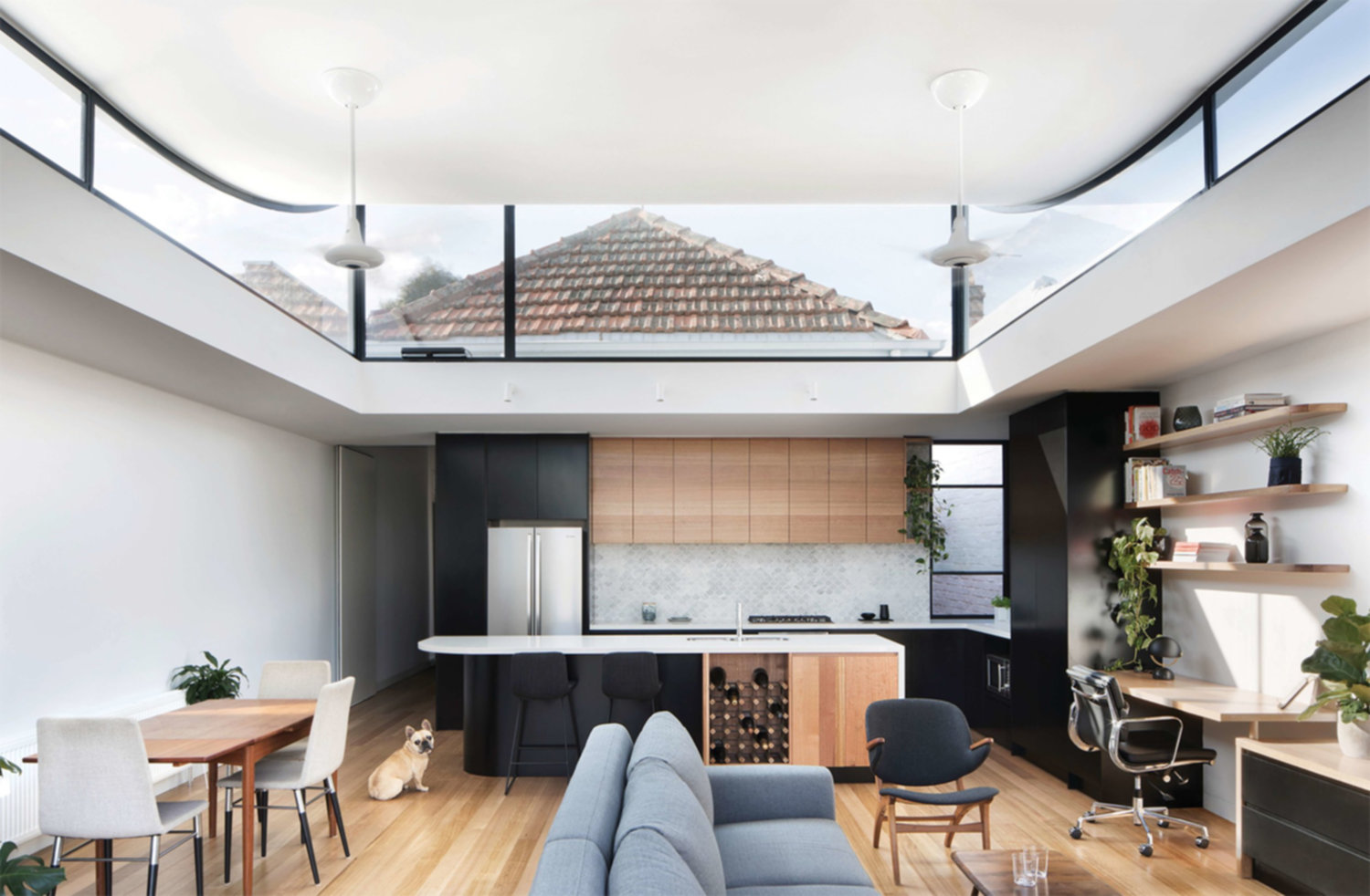 Extension d'une maison à Melbourne par Ben Callery architects