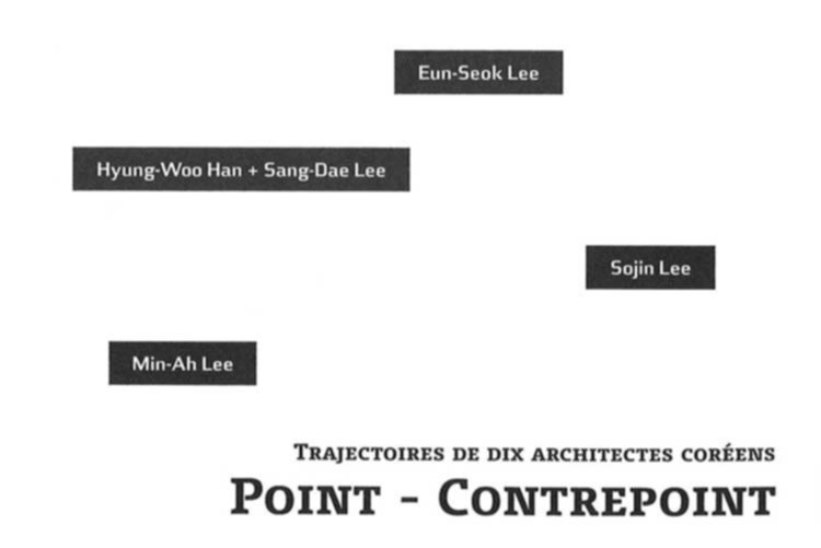 POINT - CONTREPOINT