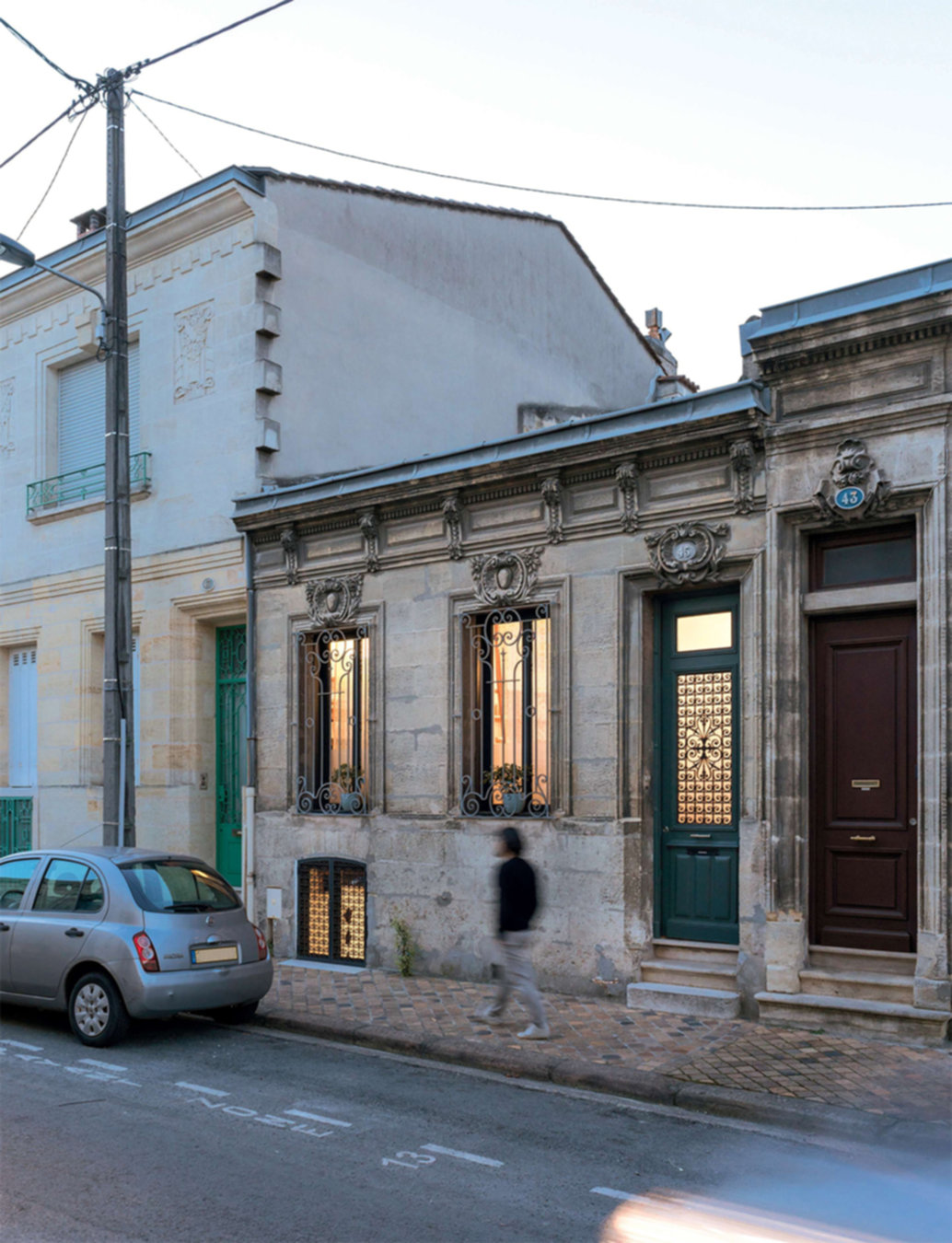 Rénovation d'une échoppe bordelaise par l'atelier BAL architectes
