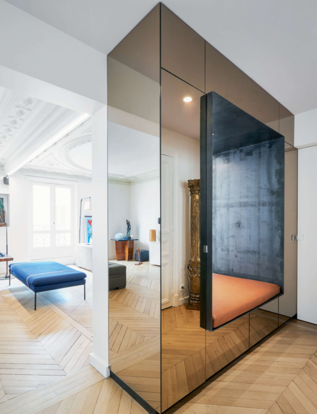 Rénovation d'un appartement de 130 m² à Paris par Cut Architectures